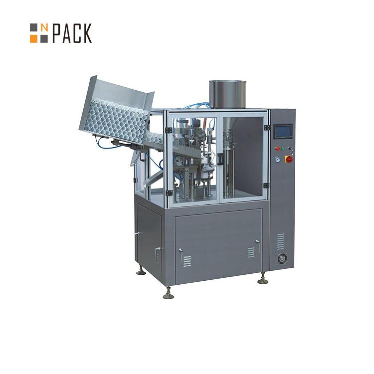 Machine de remplissage de tubes haute capacité pour crème plastique cosmétique