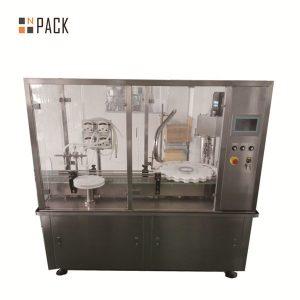 Machine de remplissage d'huile essentielle de CBD de bouteille de compte-gouttes