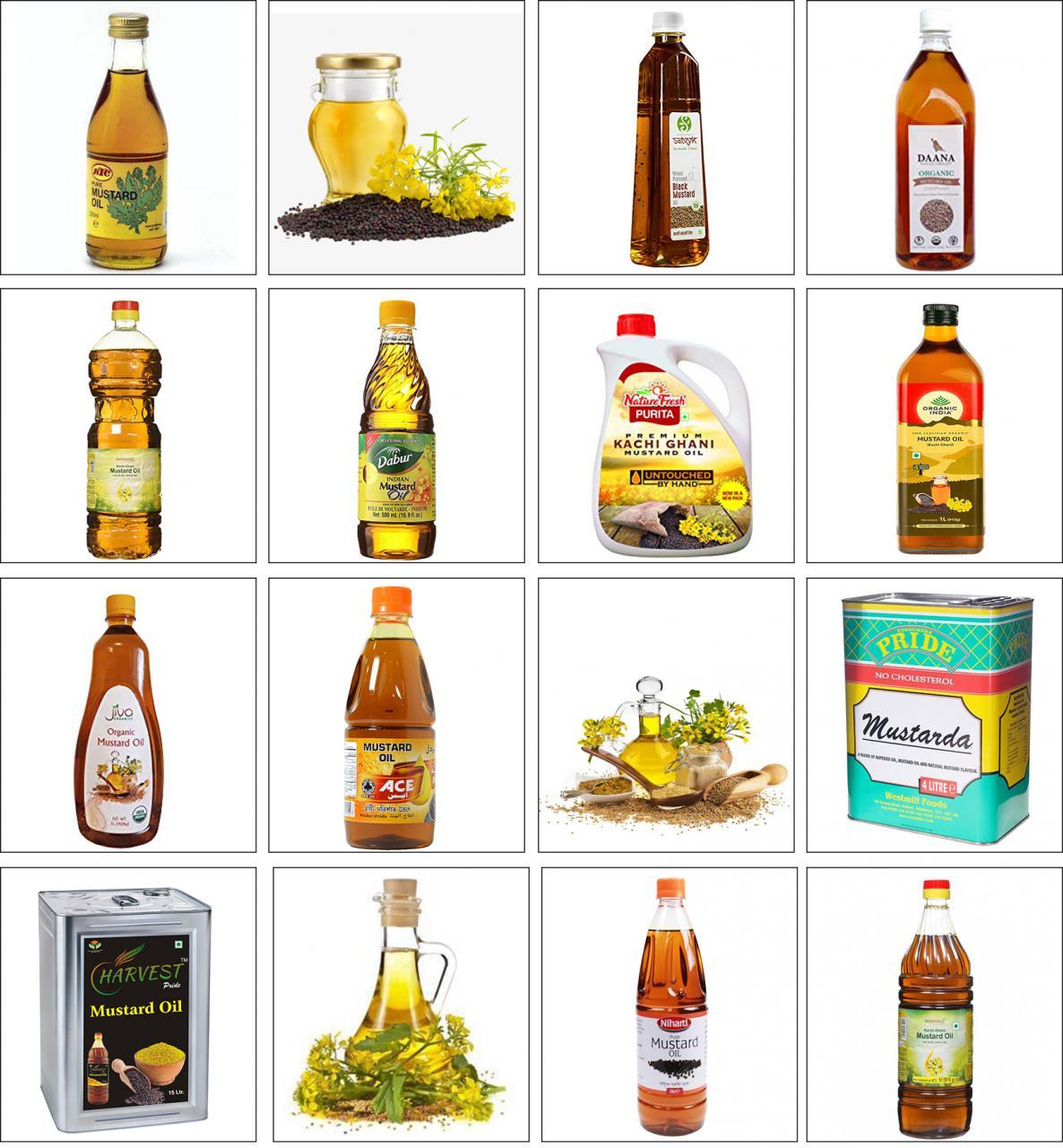 Machine d'emballage d'huile de moutarde à 10 buses à faible coût