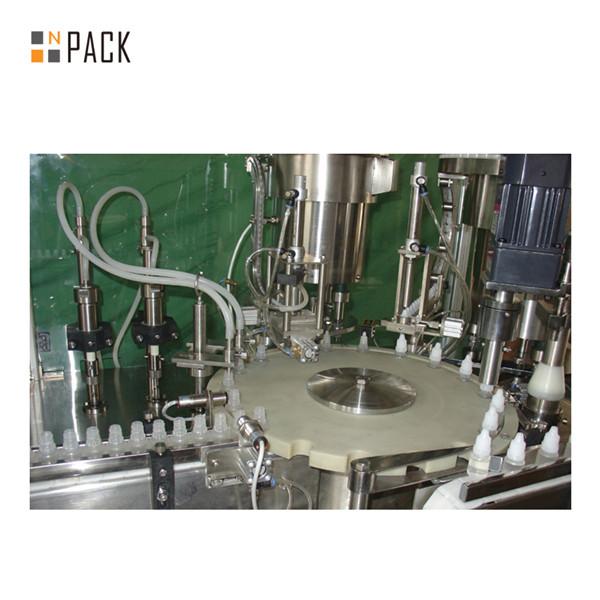 Machine de remplissage de liquide de contrôle numérique entièrement automatique de 40-1000 ml