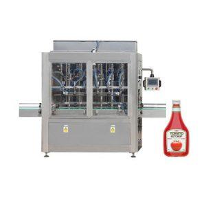 Machine de remplissage de confiture de pot de sauce tomate