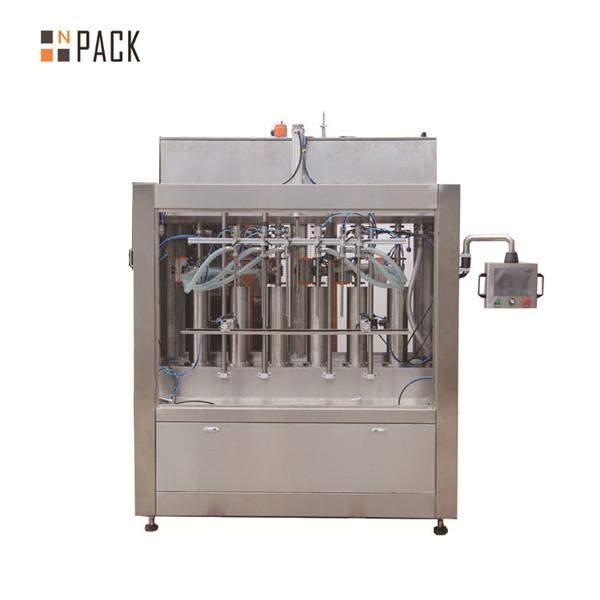 Machine de remplissage liquide automatique volumétrique de sauce tomate