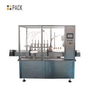 Machine de capsulage et d'étiquetage de remplissage de petites bouteilles de 30 ml