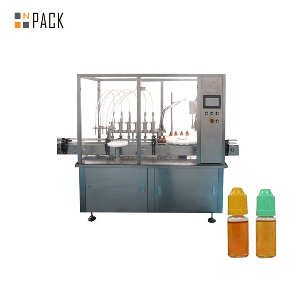 Machine de remplissage automatique de jet de désodorisant liquide de vaisselle