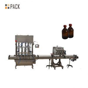 Machine de remplissage automatique d'huile de lubrification / huile de lubrification de grande précision