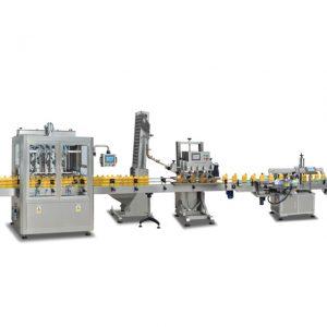 Machines de remplissage de bouteilles entièrement automatiques 2 en 1 SUS304 pour la fabrication d'huile d'olive
