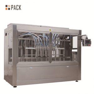 Machine automatique de remplissage liquide / pâte / sauce / miel de 8 buses de remplissage