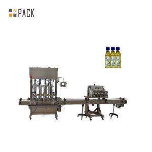 Machine de capsulage de remplissage de bouteilles de machine de remplissage de vernis à ongles en gel à 2 buses automatique