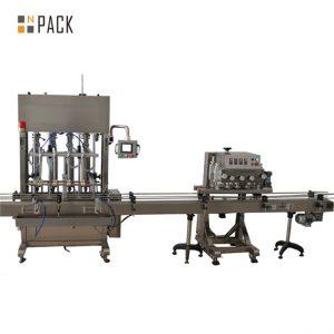 machine de remplissage d'huile végétale de produits chimiques agricoles de sauce de condiment d'acier inoxydable