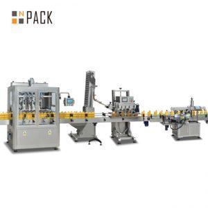 machine de remplissage de piston de confiture, machine de remplissage automatique de sauce piquante, chaîne de production de sauce chili