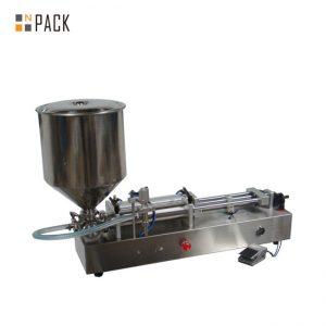 Machine de remplissage de crème glacée très populaire / machine de remplissage à double tête / machine de remplissage de vernis à ongles