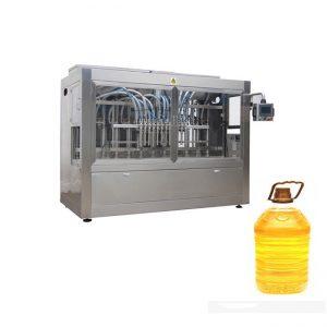 Machine à étiquettes remplissante d'huile d'olive pressée à froid / mélange d'huile