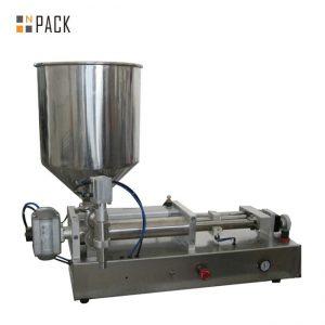 Costomic 2 têtes semi-automatique acide machine de remplissage liquide