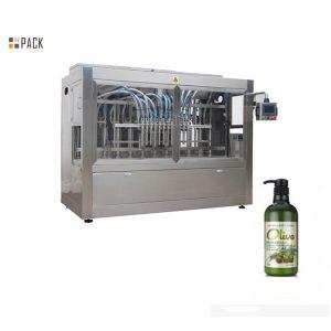 Machine de remplissage de shampooing de bain en bouteille automatique complète