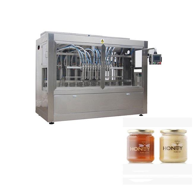 Machine d'embouteillage de miel de pot d'emballage de remplissage bon marché