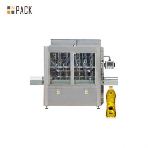 machine de capsulage remplissante automatique de bouteille d'huile de moteur d'huile de moteur avec le certificat de GMP