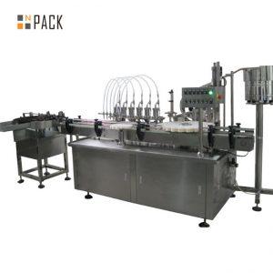 Machine de capsulage et étiqueteuse de remplissage de gouttes pour les yeux 10ml