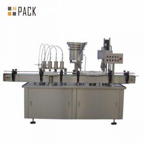 Machine de capsulage de remplissage de flacon compte-gouttes e-liquide automatique 10 ml 15 ml 30 ml