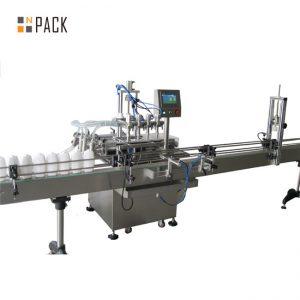 Machine de remplissage automatique d'huile comestible de bouteille d'animal familier de 5 litres