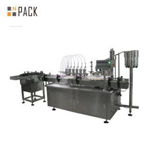 10 ml et 60 ml prix usine E machines de remplissage de bouteilles liquides